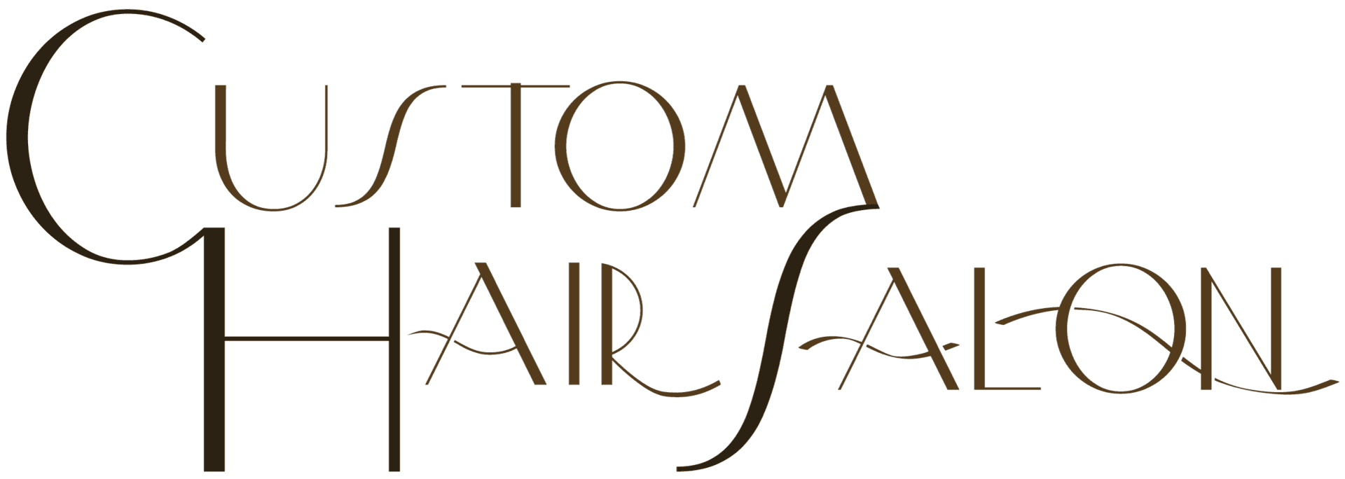 Custom Hair Salon logo