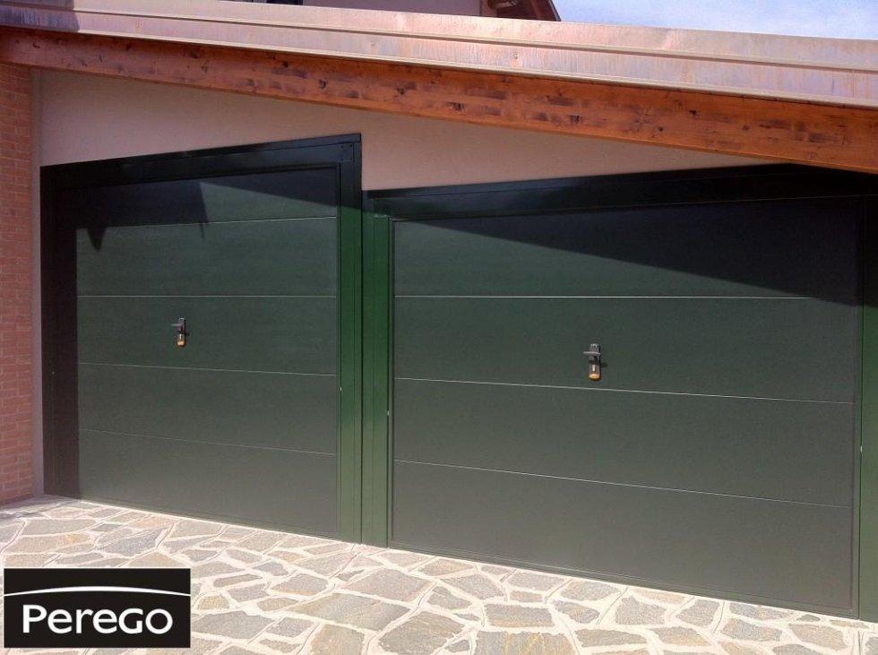 Porte in ferro per garage