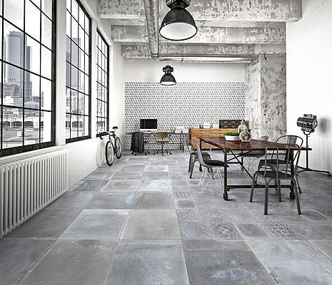 Pavimento effetto cotto-cemento Asti