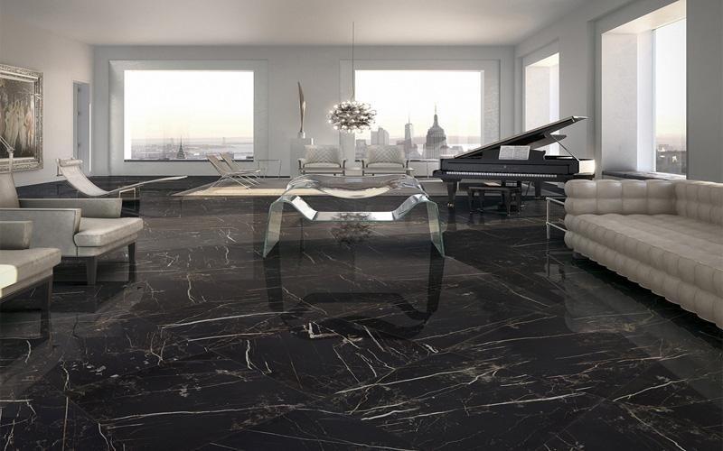Gres porcellanato effetto marmo levigato Asti