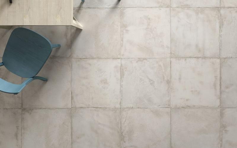 Pavimento 60 x 60 cm effetto cotto- cemento Asti