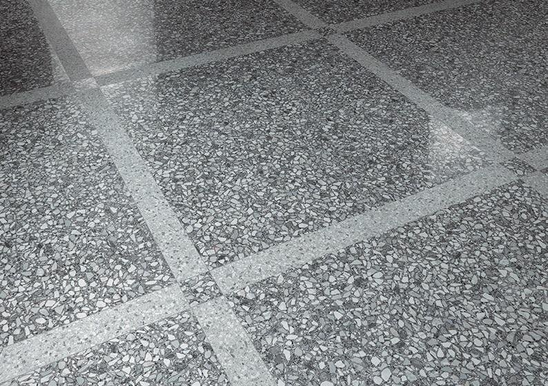Gres porcellanato effetto granigliato levigato 60 x 60 cm rettificato