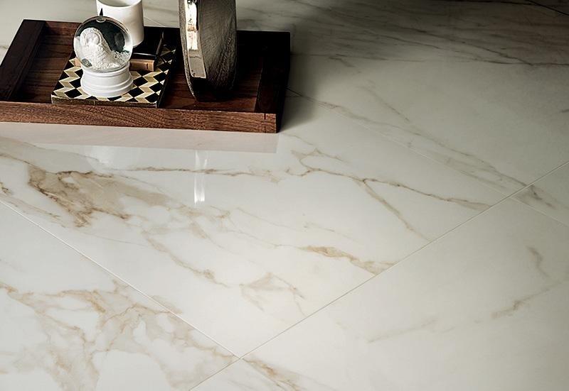 Pavimentazione in marmo asti tralli marmi ceramiche - Piastrelle gres porcellanato effetto marmo ...