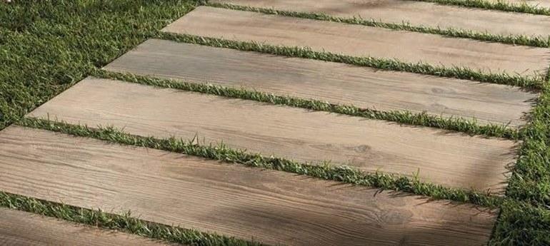 Gres spessore 20 mm effetto legno Asti