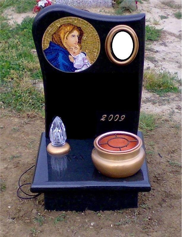 copri-fossa in granito nero assoluto Asti