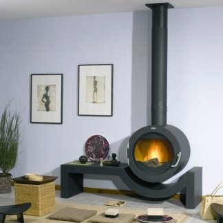 riscaldamento stufa design