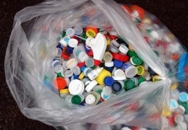 raccolta tappi plastica
