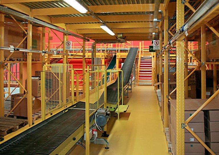 magazzini automatizzati