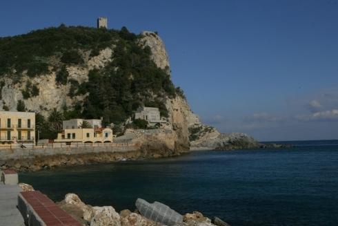 Vista panoramica Villa Azzurra