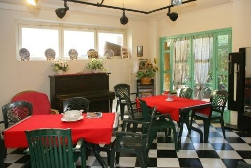 Sala pranzo e relax