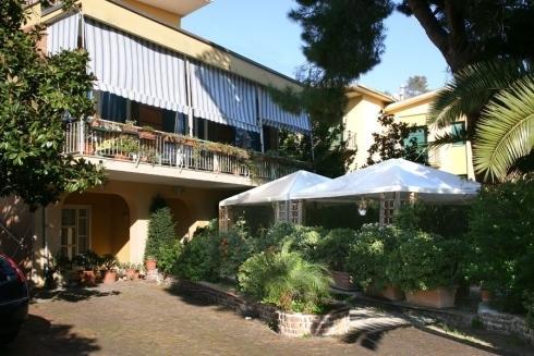 Facciata esterna Villa Azzurra