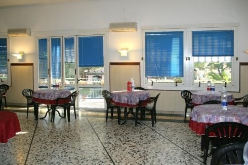 Sala da pranzo Villa Azzurra