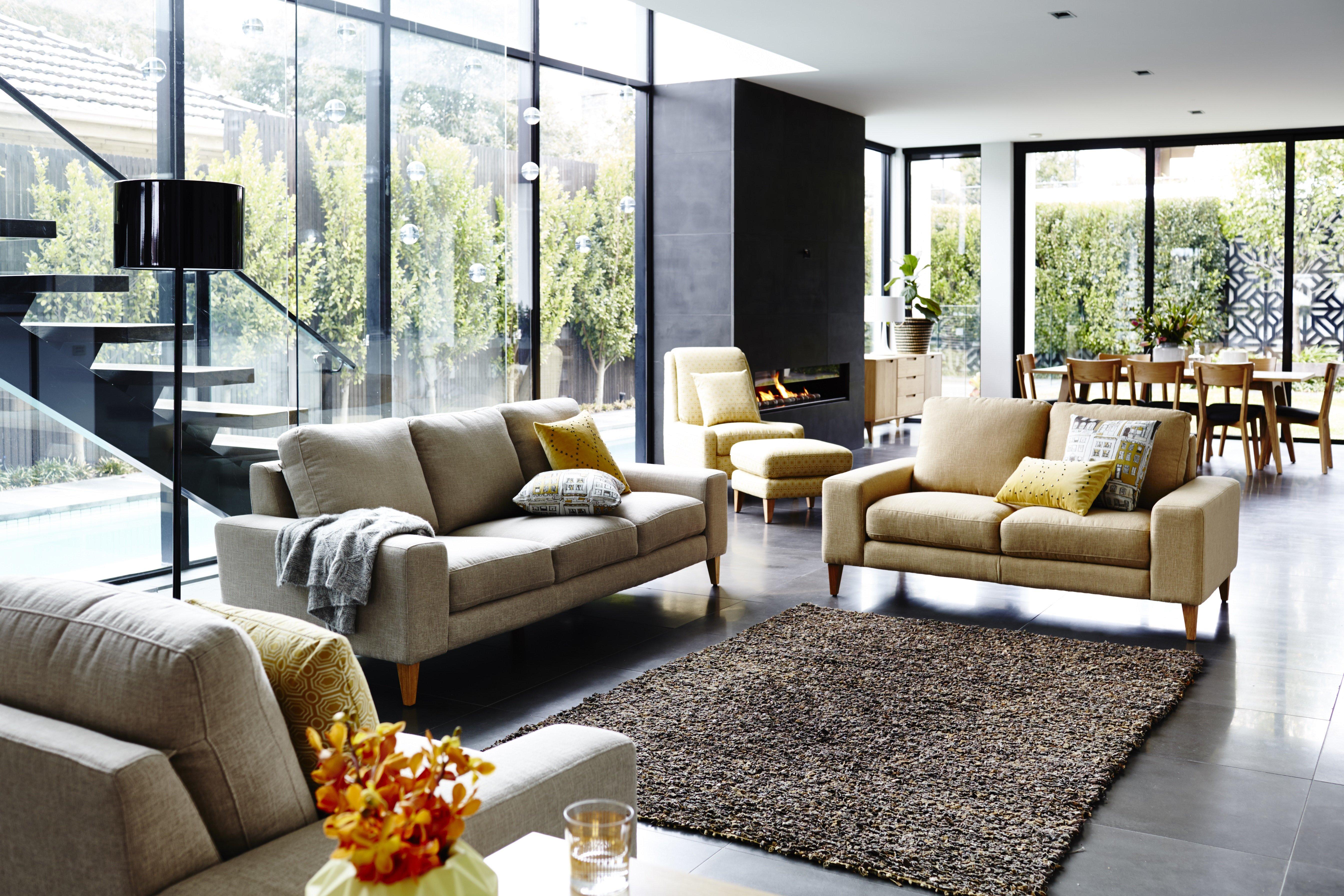 home furniture - Prague 3 Seater & 2 Seater