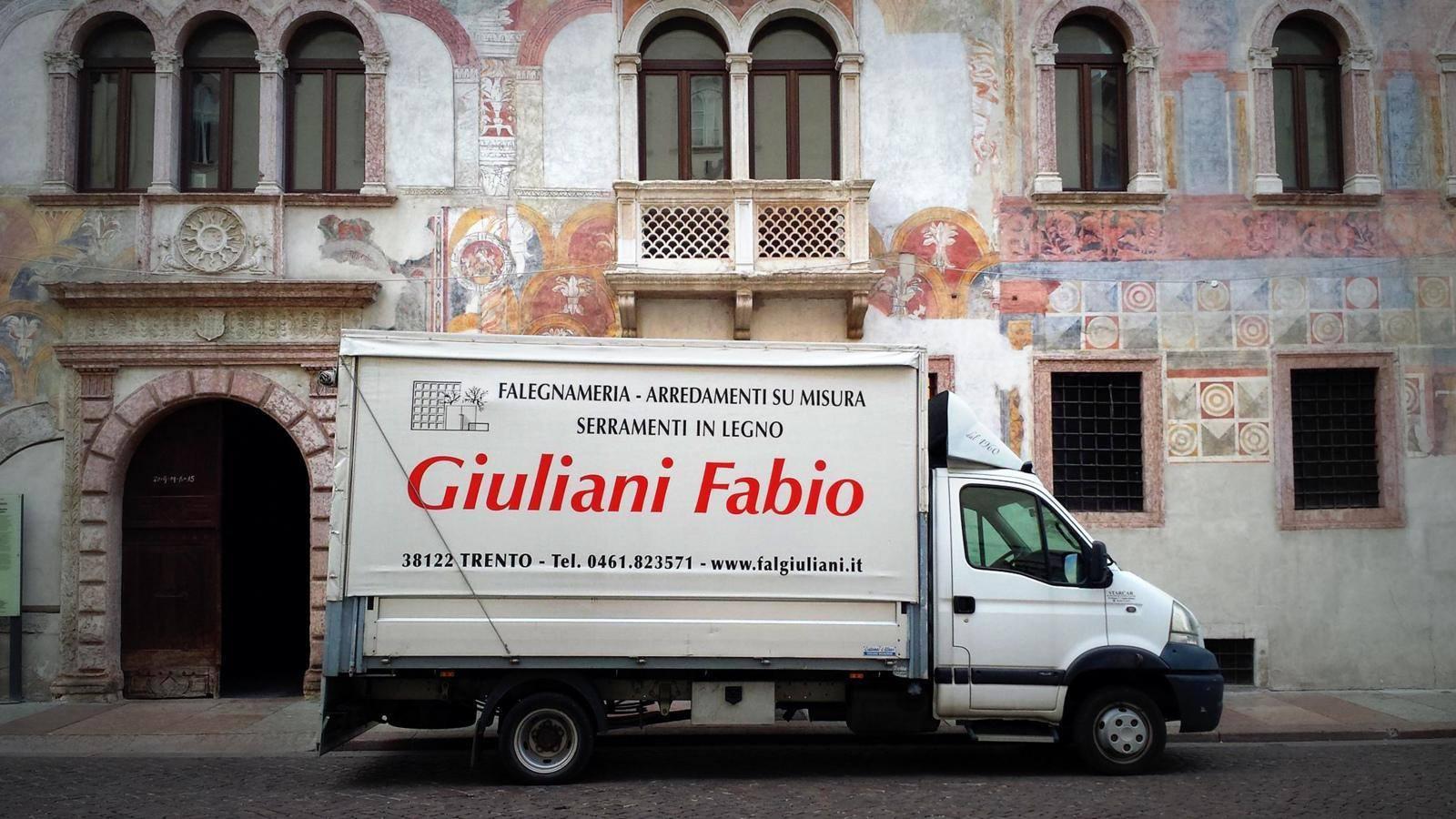show room Giuliani Falegnameria - Trento
