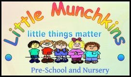 Little Munchkins Pre School Nursery Logo