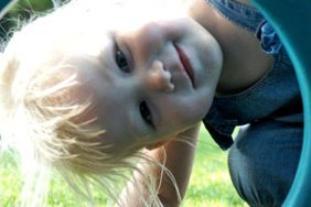 blonde kid