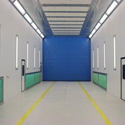 State of the art spraybooths from Haltec