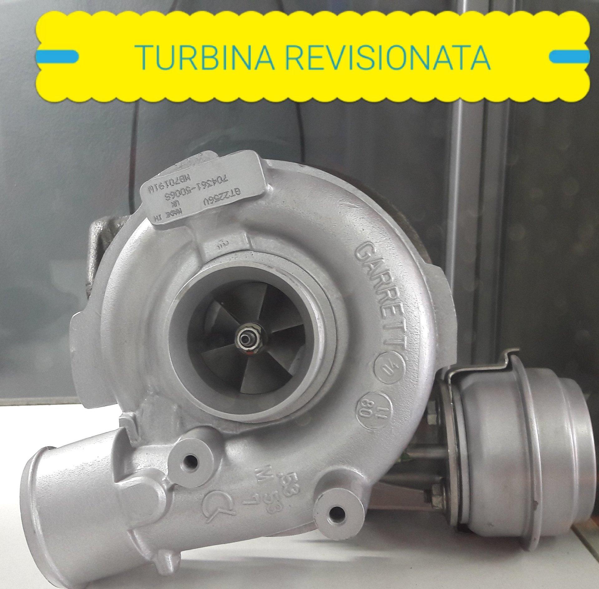 turbina revisionata