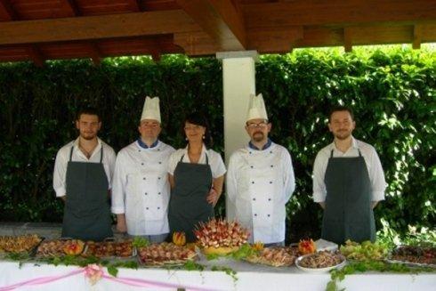 Servizio camerieri e chef