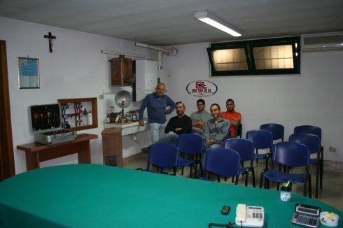 Tecnici nella nostra sede di Silvi
