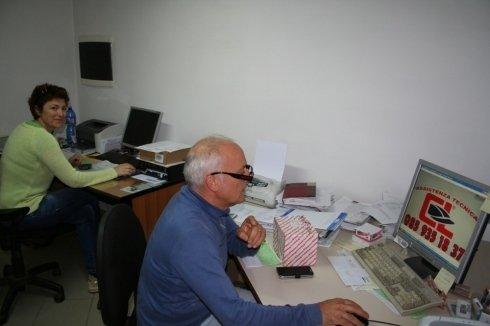 Ufficio tecnico della nostra sede di Silvi