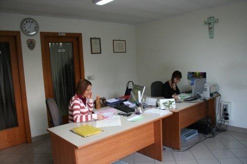 Ufficio amministrativo della nostra sede di Silvi
