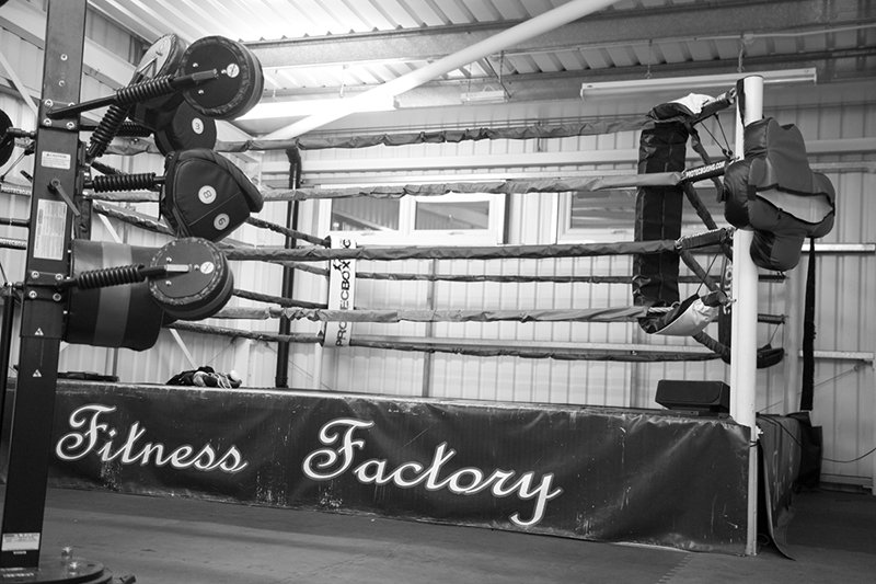 full boxing area