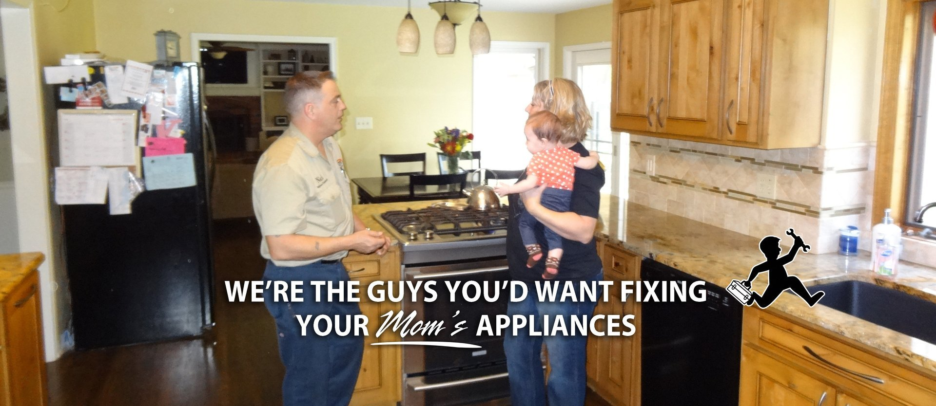 We're The Guys You'd Want Fixing Your Mom's Appliances.  Nutterman fixes you appliances to keep you going!