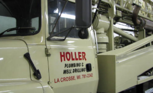 Holler Plumbing & Well Drilling Company doing well pumps and more since 40 years in La Crosse, WI