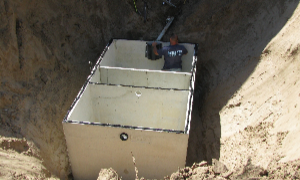 Professional helping with septic tank draining in La Crosse, WI