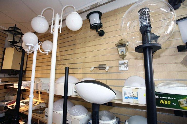 lampioni e impianti di illuminazione