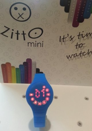 Zitto Swatch Milano quadrante illuminato