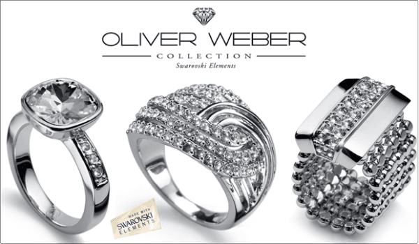 Gioielli Oliver Weber Collection Anelli