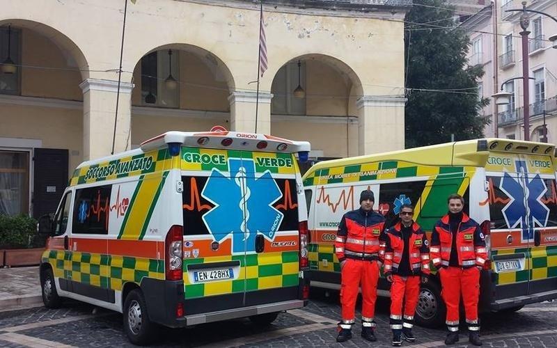 servizio ambulanza a capua