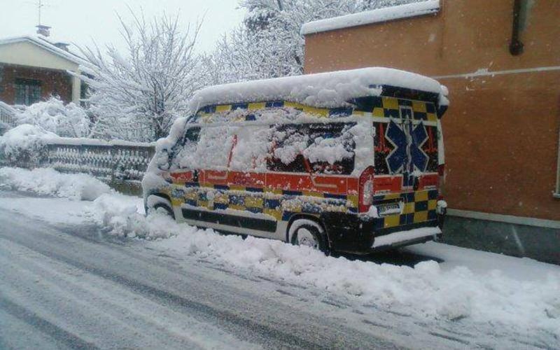 soccorso con ambulanza capua