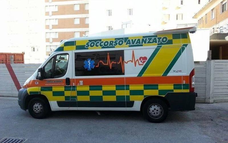 trasporto con automedica caserta