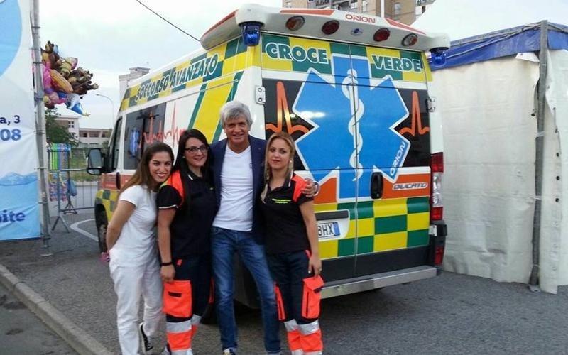 servizio ambulanza con infermiere