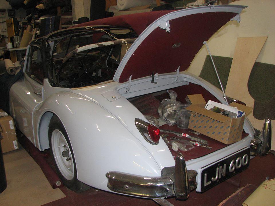 white colour car