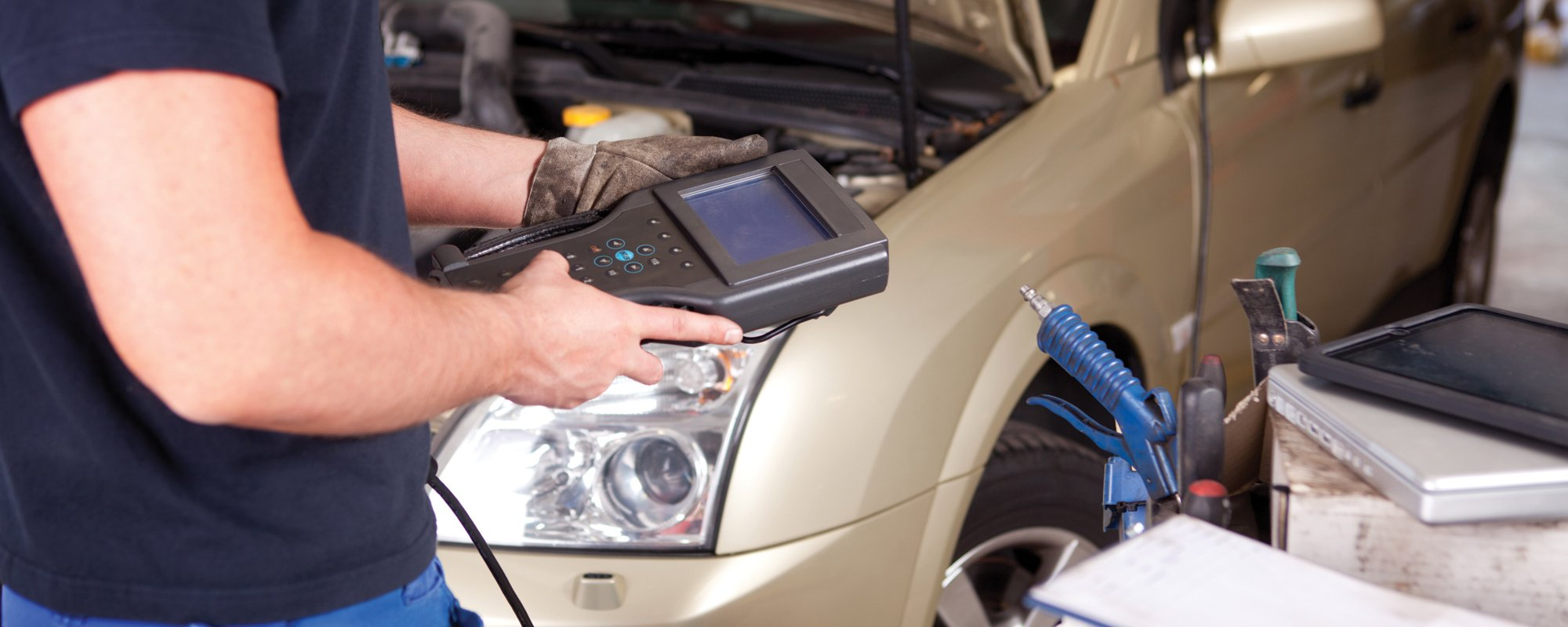 Devices used for maintenance of cars