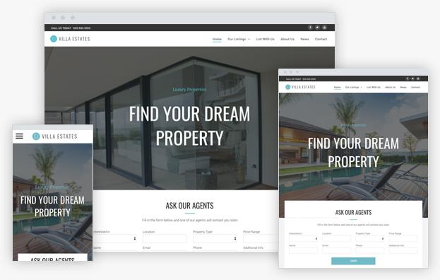 Reddrop Media Real Estate Template