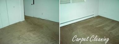 Before and after photos of a new construction clean up in Anchorage, AK