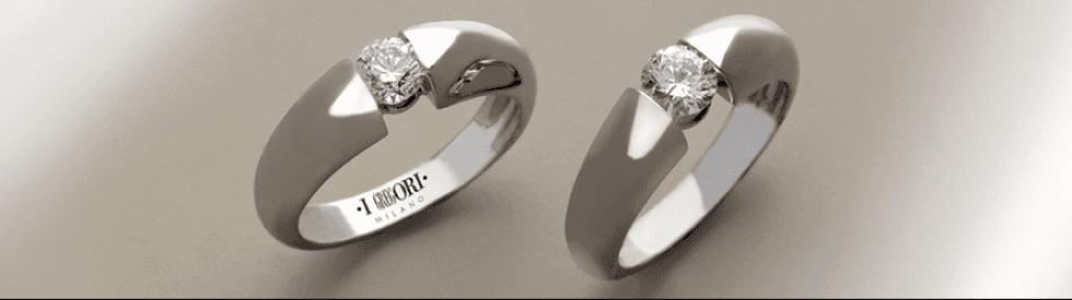 vendita anelli diamanti solitari milano