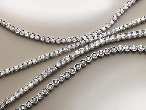Bracciali su misura con diamanti