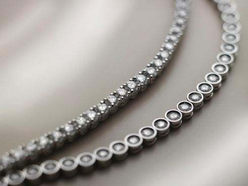 Bracciali con diamanti per idee regalo