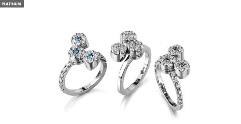 anelli in oro bianco milano