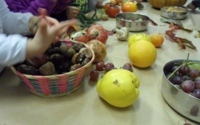 pere e frutti autunnali