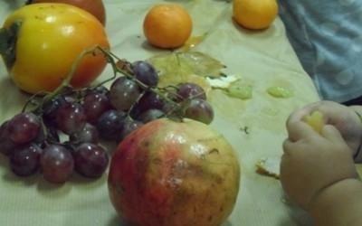 riconoscere i frutti al tatto
