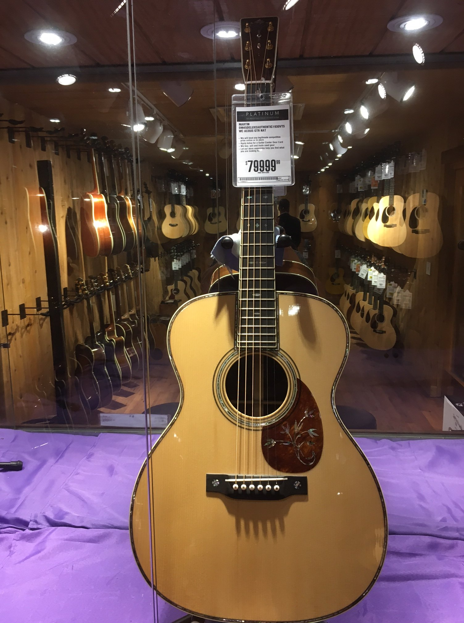 guitar center tour new york city. Black Bedroom Furniture Sets. Home Design Ideas