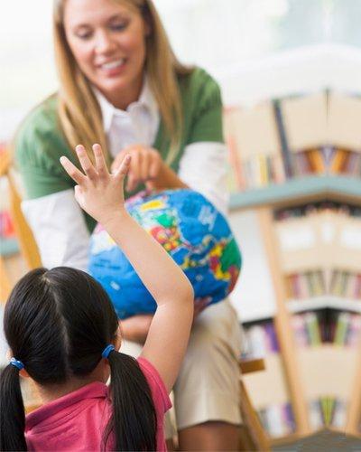 Tinkabell Learning Centre teacher teaching kid