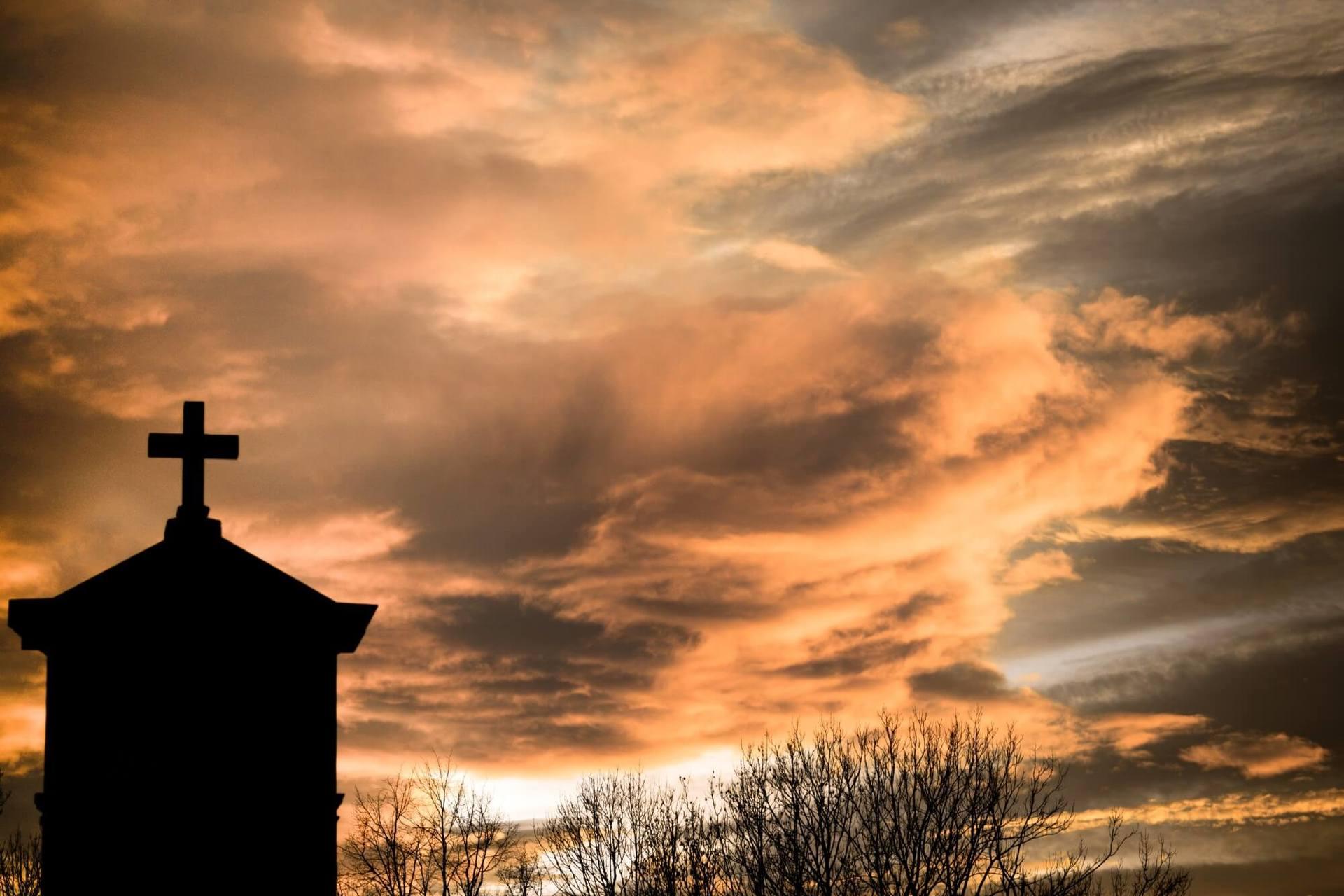 Sky and cross
